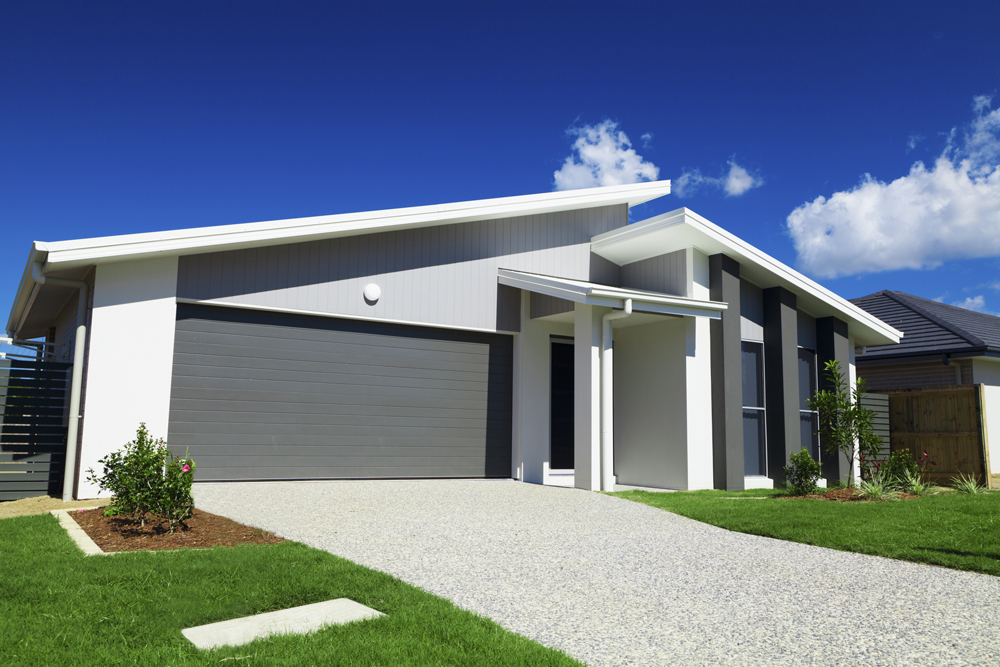 Picture of a new house in Australia